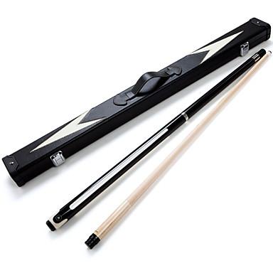 cheap Billiards & Pool-JIANYING 2-Piece Pool Cues Cue Sticks Billiards Wood Pool Nine-Ball