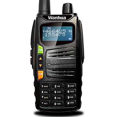 Walkie Talkie Handheld Anolog Power Saving Function Dual Band LCD Display Scan Monitoring >10KM >10KM 128 5W Walkie Talkie Two Way Radio