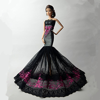 d7afe4465970 Πάρτι   Απόγευμα Φορέματα Για Barbiedoll Δαντέλα   Organza Φόρεμα Για Κορίτσια  κούκλα παιχνιδιών 5547264 2019 –  10.99