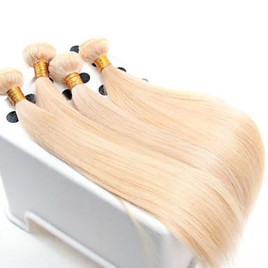 povoljno Remy umeci od ljudske kose-Virgin kosa Remy umeci od ljudske kose Ravan kroj / Klasika 500 g Više od jedne godine Dnevno