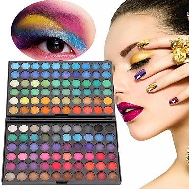 Eyeshadow Palette / Powders Eye Coloured gloss Long Lasting Daily Makeup / Halloween Makeup / Party Makeup Daily 1160 Cosmetic