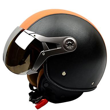billige Motorsykkel & ATV tilbehør-klaring gxt g-288 halvhjelm voksne unisex motorsykkel hjelm antifog / pustende
