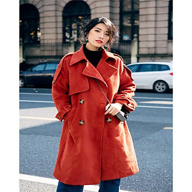 ρετρό κόκκινο μάλλινο παλτό γυναικεία 2016 χειμώνα μεγάλο τμήμα της  σταυρωτό γόνατο χοντρό μάλλινο παλτό Κορέας παιδιά 5551408 2019 –  45.14 b5ac9a180e9