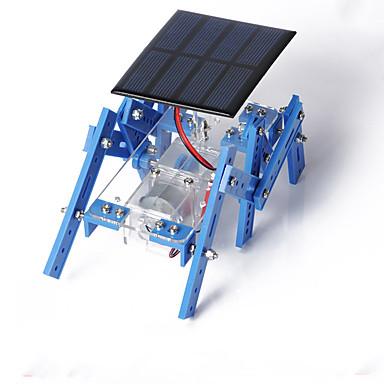 [$11 99] Crab Kingdom of Solar Panels Hexapod Robot Model Assembled DIY  Handmade Material Package