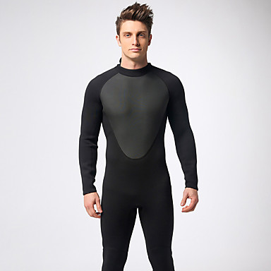 Mysenlan สำหรับผู้ชาย drysuits 3mm สแปนเด็กซ์ ชุดออกกำลังกาย ระบายอากาศ แขนยาว การดำน้ำ คลาสสิก ฤดูใบไม้ผลิ