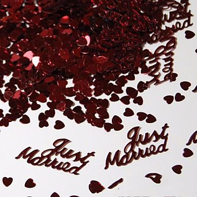 Latice, konfeti i ostalo Eko-friendly materijal Vjenčanje Dekoracije Vjenčanje / Angažman / Svadba Plaža Teme / Vrt Tema / Vegas Theme Proljeće / Ljeto / Jesen