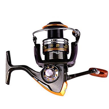 Gelendong Memancing Spinning Reels 2.6:1 อัตราทดเกียร์+13 บอลแบริ่ง ปฐมนิเทศมือ ที่สามารถแลกเปลี่ยนได้ การตกปลาทั่วไป - DA4000