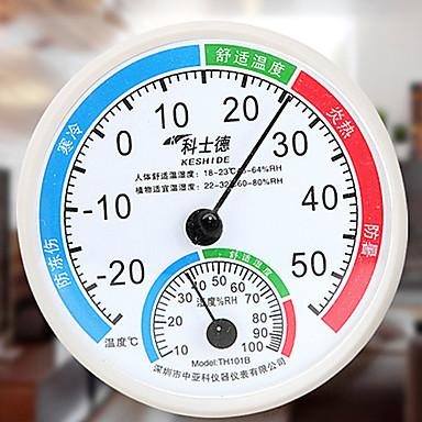 อุณหภูมิในร่มสีสุ่มหมิงใช้ในครัวเรือนสูงและความชื้นเมตรอุณหภูมิมินิไฮโกรมิเตอร์ความถูกต้อง