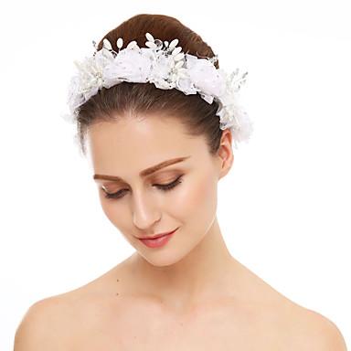 คริสตัล / ไข่มุกเทียม / ลูกไม้ headbands กับ 1 งานแต่งงาน / โอกาสพิเศษ หูฟัง
