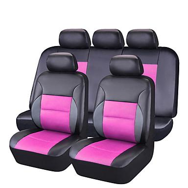 billige Interiørtilbehør til bilen-CARPASS Setetrekk til bilen Setetrekk Svart / svart + svart / Rosa PVC Forretning Til Universell