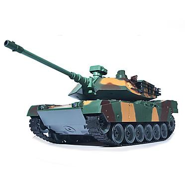 cheap RC Tanks-M1A2 Tank 1:18 RC Car Ready-to-go Remote Controller / Transmmitter / Tank / User Manual