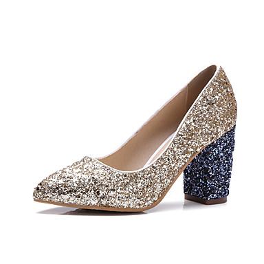 Mujer Zapatos Materiales Personalizados / Semicuero Primavera / Otoño Confort / Innovador Bailarinas Tacón Plano Dedo Puntiagudo Plata / Dédouanement Livraison Rapide j3fk7x7