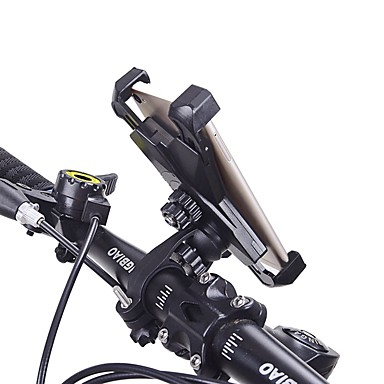 billige Sykkeltilbehør-HiUmi Telefonstativ til sykkel Justerbare Antiskl Mobiltelefon Anti Shake Stabil Til Vei Sykkel Fjellsykkel BMX TT Foldesykkel Sykling ABS 1 pcs