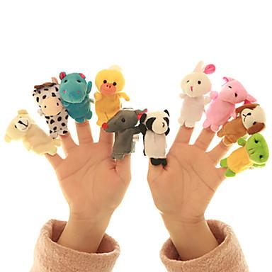 preiswerte Marionetten-Fingerpuppen Neuartige Textil Baumwolle 10 pcs Spielzeuge Geschenk