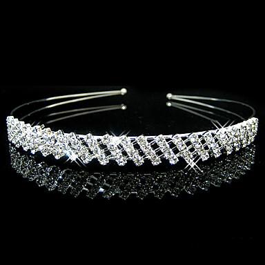 พลอยเทียม tiaras / headbands กับ 1 งานแต่งงาน / โอกาสพิเศษ / ที่มา หูฟัง