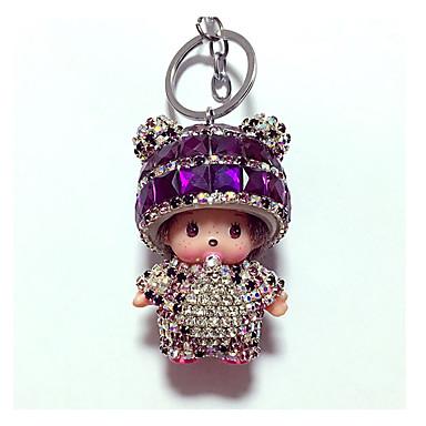 cheap Keychains-Keychain Diamond Lovely Crystal for Kid's Adults' Boys' Girls'