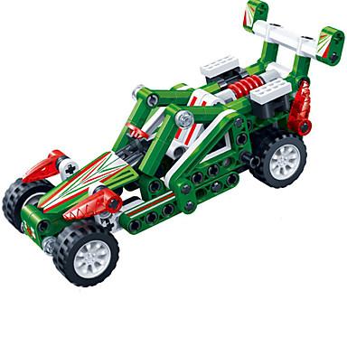 Building Blocks ของเล่นชุดก่อสร้าง ของเล่นการศึกษา 138 pcs รถยนต์ Race Car Creative DIY เด็กผู้ชาย เด็กผู้หญิง Toy ของขวัญ