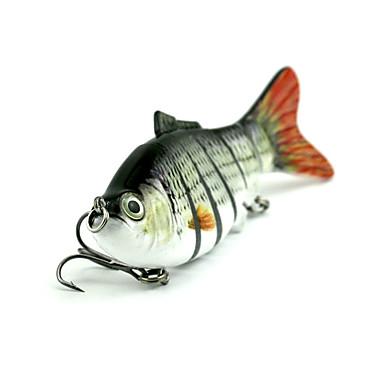 1 pcs Hard Bait ที่ลวงตาในเบ็ด Hard Bait Sinking Bass ปลาเทราท์ หอก การตกปลาทั่วไป พลาสติก