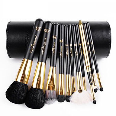 cheap Shop By Brands-11 Makeup Brushes Set Goat Hair / Synthetic Hair / Others Limits bacteria / Hypoallergenic Face / Lip / Eye MSQ