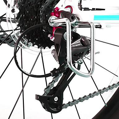 billige Sykkeltilbehør-Girhjulbeskytter Holdbar Til Vei Sykkel Fjellsykkel BMX TT Foldesykkel Sykling Aluminiumslegering Svart