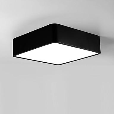 Flush Mount ดาวน์ไลท์ ทาสีเสร็จสิ้น โลหะ อคริลิค LED 110-120โวลล์ / 220-240โวลต์ วอมไวท์ / ขาว รวมแหล่งกำเนิดไฟ LED / แบบมี LED