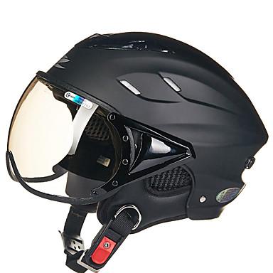 REUS 125B เปิดหน้า ผู้ใหญ่ ทุกเพศ หมวกกันน็อครถจักรยานยนต์ ป้องกันหมอก / ระบายอากาศ