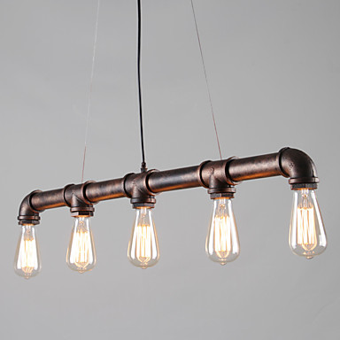 OYLYW 5-Light ไฟจี้ Ambient Light ทาสีเสร็จสิ้น โลหะ Mini Style 110-120โวลล์ / 220-240โวลต์ ไม่รวมหลอดไฟ / E26 / E27