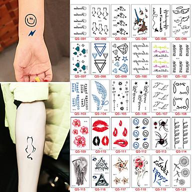 599 30 Naklejki Z Tatuażem Inne Non Toxicdziecko Dziecięce Damskie Męskie Dla Nastolatków Tattoo Flash Tatuaże Tymczasowe