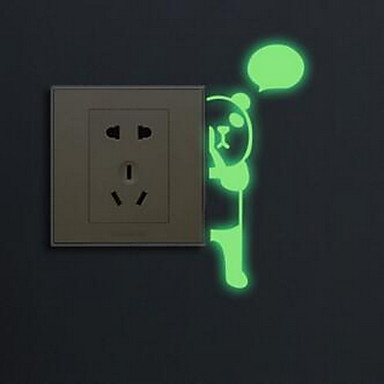 Cartoon Wall Stickers Luminous Wall Stickers Light Switch Stickers - Vinyl-decals-to-decorate-light-switches-and-outlets