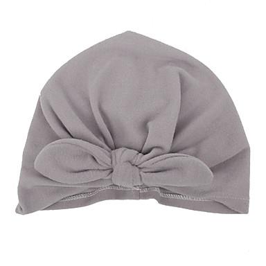 povoljno Odjeća za bebe-Dijete koje je tek prohodalo Dječaci / Djevojčice Pamuk Kape i šeširi Blushing Pink / Sive boje / Crvena One-Size / Kosa Kravata