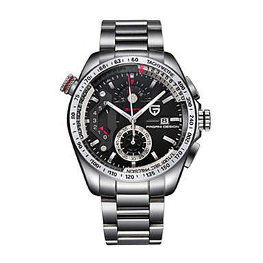 levne Pánské-Pánské Sportovní hodinky Křemenný Bílá 30 m Analog - Digitál Vintage - Bílá Černá