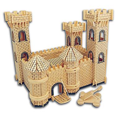 voordelige 3D-puzzels-Houten puzzels Kasteel / Beroemd gebouw / Chinese architectuur professioneel niveau Puinen 1pcs Geschenk