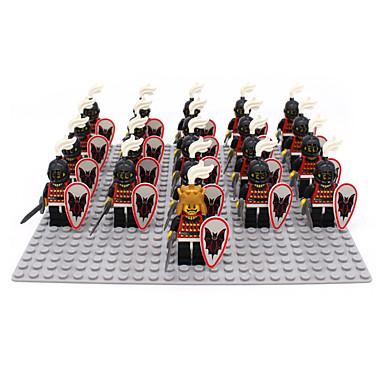 ENLIGHTEN Building Blocks Block Minifigures ของเล่นชุดก่อสร้าง ของเล่นการศึกษา 21 pcs Military นักรบ ปราสาท เด็กผู้ชาย เด็กผู้หญิง Toy ของขวัญ