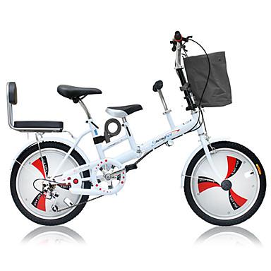 povoljno Bicikli-Folding bicikle Biciklizam 3 Brzina 20 inča Dvostruka disk kočnica Vilica s oprugom Monocoque Običan Aluminijska legura / Čelik / Da / #