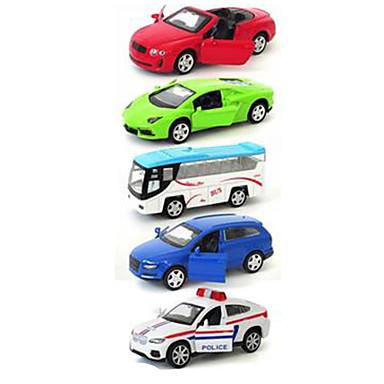 ALLOY METAL รถของเล่น Playsets ยานพาหนะ รถแข่ง รถตำรวจ รถยนต์ การจำลอง คลาสสิกและถาวร เก๋ไก๋และทันสมัย เด็กผู้ชาย เด็กผู้หญิง Toy ของขวัญ / Metal