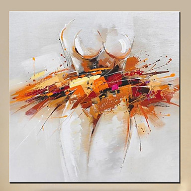 2019 5 Panels Hand Painted Modern Abstract Oil Painting On