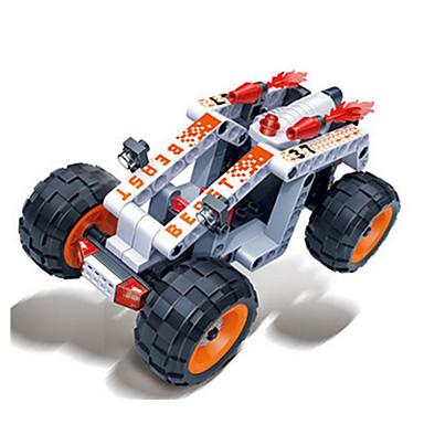 รถของเล่น Building Blocks ของเล่นชุดก่อสร้าง ของเล่นการศึกษา 86 pcs รถยนต์ Race Car Creative DIY Pull Back Vehicles รถแข่ง เด็กผู้ชาย เด็กผู้หญิง Toy ของขวัญ