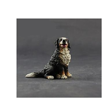 Action Figures & Stuffed Animals จอแสดงผลรุ่น สุนัข กวาง สัตว์ต่างๆ สนุก แปลกใหม่ การจำลอง เด็ก เด็กผู้ชาย Toy ของขวัญ