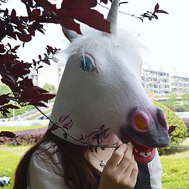 levne Masky-Halloweenské masky Masky zvířat Polykarbonát Latex Guma Unicorn Jídlo a nápoje Dospělé Chlapecké Dívčí