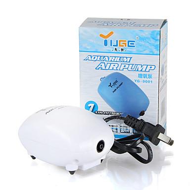 cheap Pumps & Filters-Aquarium Fish Tank Air Pump Vacuum Cleaner Energy Saving Noiseless Plastic 1 pc 220 V / #