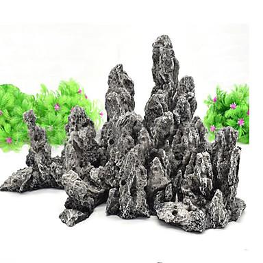 ตู้ปลา การตกแต่งตู้ปลา Rocks หิน Dinosaur Non-toxic & Tasteless เรซิน