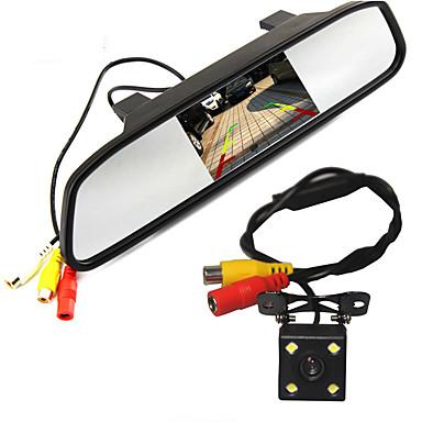 voordelige Automatisch Electronica-WG4.3-5inch 480p / 1080p HD Auto DVR 170 graden / 110 Graden Wijde hoek 5 inch(es) / 4.3 inch(es) Dash Cam met Nacht Zicht / Parkeermodus