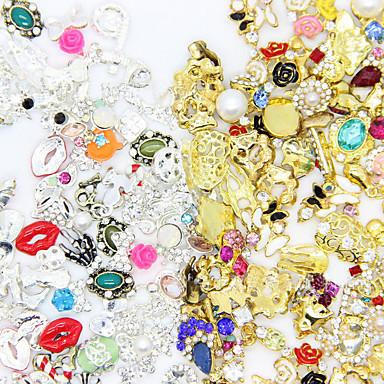 50pcs Rhinestones Nail Jewelry Glitters Metallic Fashion High Quality Daily