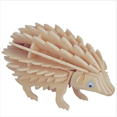 levne 3D puzzle-Dřevěné puzzle Slavné stavby / Čínské stavby / Krokodýl profesionální úroveň Dřevěný 1 pcs Dárek
