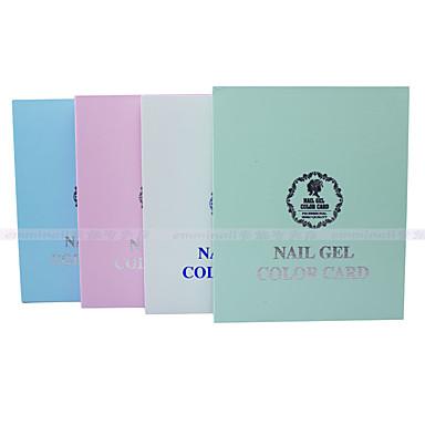 yw0015 nail tool color 120 color high grade nail polish color nail color display board color version random distribution