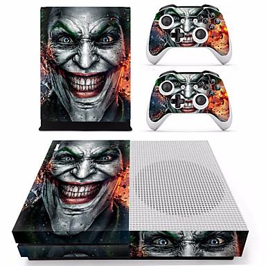 preiswerte Xbox One Zubehör-B-SKIN XBOX ONE  S PS / 2 Aufkleber Für Xbox One S . Neuartige Aufkleber PVC 2 pcs Einheit
