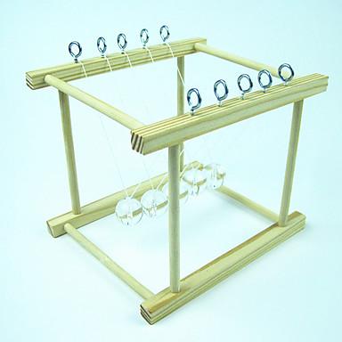 ลูกบอล ของนิวตันเปล Balance Ball Model Building Kits Creative คลาสสิก เท่ห์ ทำด้วยไม้ เมทัลลิก แก้ว Toy ของขวัญ 1 pcs