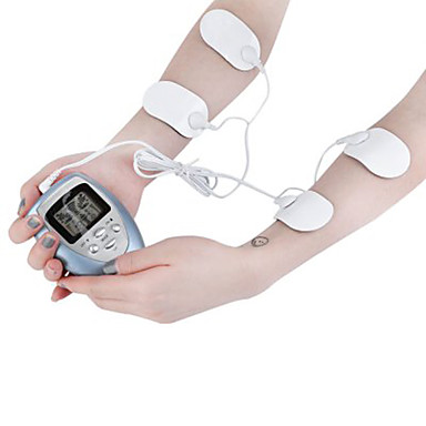 cheap Consumer Electronics-4 Pads Full Body Massager Slimming Electric Slim Pulse Muscle Relax Fat Burner