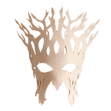 levne Masky-Halloweenské masky Kožené Plyš kreativita Párty Cool Jídlo a nápoje Dospělé Chlapecké Dívčí
