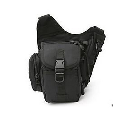 เข็มขัดกระเป๋า Chest Bag วิ่งแพ็ค สำหรับ แคมป์ปิ้ง & การปีนเขา การปีนหน้าผา กีฬาสันทนาการ การเดินทาง กระเป๋าสปอร์ต Tactical มัลติฟังก์ชั่ กันน้ำ ผ้าใบ เล่นกระเป๋า